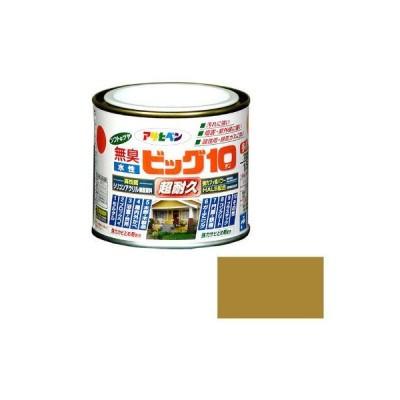 アサヒペン 水性ビッグ10多用途 1/5L (ハニーゴールド) 9011220(直送品)