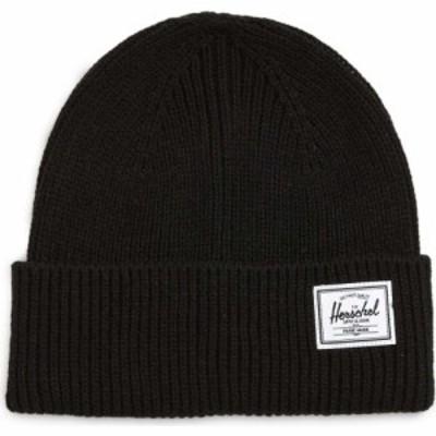 ハーシェル サプライ HERSCHEL SUPPLY CO. メンズ ニット ビーニー 帽子 Polson Beanie Black