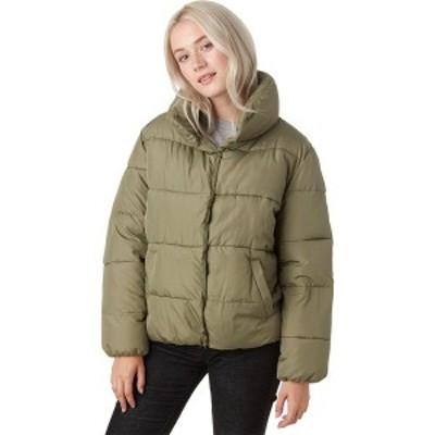 ストイック レディース ジャケット&ブルゾン アウター Short Puffer Jacket - Women's Olive