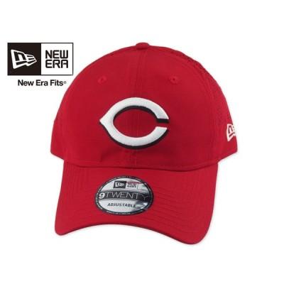 【軽量】☆NEWERA【ニューエラ】MLB 9TWENTY Cincinnati Reds PERF PIVOT RED シンシナティ・レッズ レッド [NBA メンズ レディース]