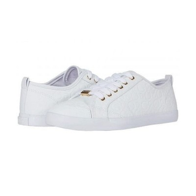 GUESS ゲス レディース 女性用 シューズ 靴 スニーカー 運動靴 Goodly - White 1