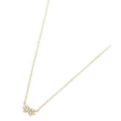 COCOSHNIK / ココシュニック ダイヤモンド リーク ネックレス