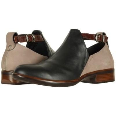 ナオト Naot レディース ブーツ シューズ・靴 Kamsin Jet Black Leather/Stone Nubuck/Luggage Brown Leather