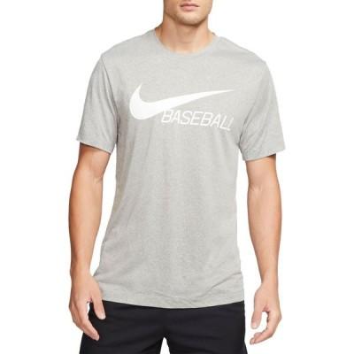ナイキ Nike メンズ Tシャツ ドライフィット トップス Legend Dri-FIT Baseball T-Shirt Dk Grey Heather