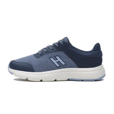 レディース【HAWKINS】 ホーキンス HC LEONIE コンフォート レースアップ HW30101 BLUE 7(24cm) ブルー
