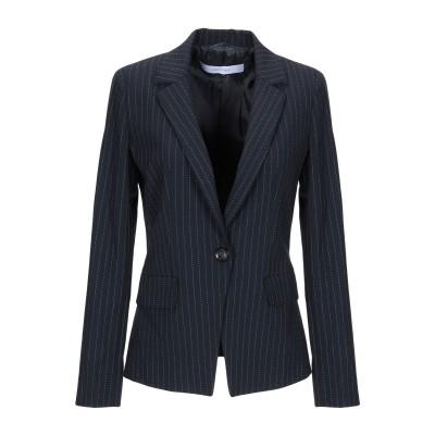 I BLUES テーラードジャケット ダークブルー 40 ポリエステル 67% / レーヨン 29% / ポリウレタン 4% テーラードジャケット