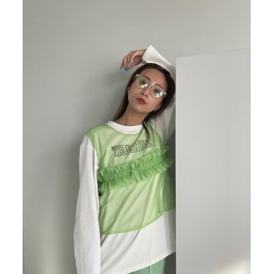 chuclla / 【SANSeLF】2way seethrough vest sanw74 WOMEN トップス > その他トップス