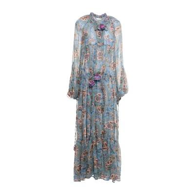 アンジュナ ANJUNA ロングワンピース&ドレス スカイブルー S ポリエステル 100% ロングワンピース&ドレス