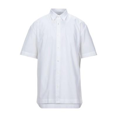 マウロ グリフォーニ MAURO GRIFONI シャツ ホワイト 50 コットン 100% シャツ