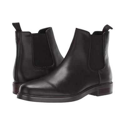 カルバン・クライン Fenwick メンズ ブーツ Dark Brown Crust Leather
