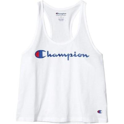 チャンピオン Champion レディース タンクトップ トップス Racerback Tank White