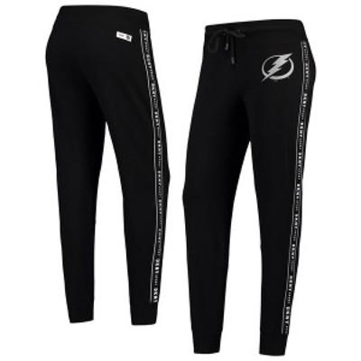 ダナ キャラン ニューヨーク レディース カジュアルパンツ ボトムス Tampa Bay Lightning DKNY Sport Women's Brooke Jogger Pants Black