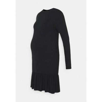 ママリシャス ワンピース レディース トップス MLAKARI - Jersey dress - black