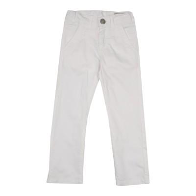 ビブロス BYBLOS パンツ ホワイト 3 コットン 98% / ポリウレタン 2% パンツ