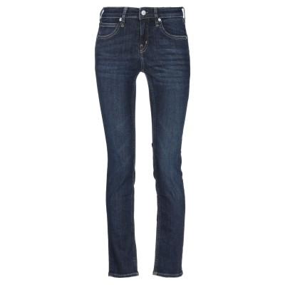 YOOX - CALVIN KLEIN JEANS ジーンズ ブルー 25W-30L コットン 92% / ポリウレタン 4% / ポリエステル 4