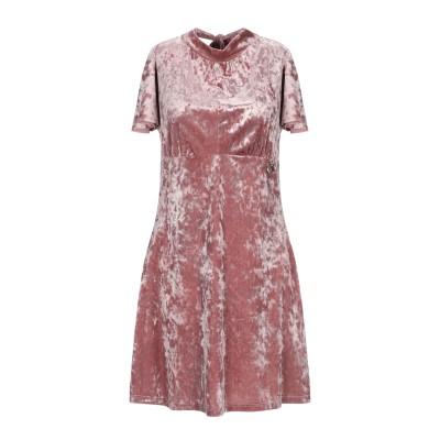 MANGANO ミニワンピース&ドレス ピンク M ポリエステル 92% / ポリウレタン 8% ミニワンピース&ドレス