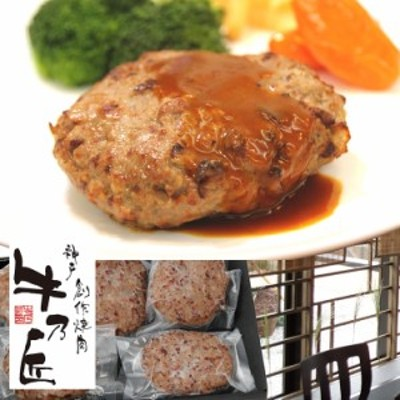 送料無料 神戸牛ハンバーグ100g×5個 のしOK /グルメ ギフト