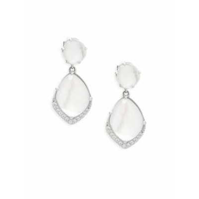アドリアナ オルシーニ レディース ジュエリー Crystal Double Drop Earrings