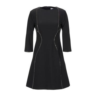 アンナリータ エンネ ANNARITA N ミニワンピース&ドレス ブラック 40 ポリエステル 90% / ポリウレタン 10% ミニワンピース&