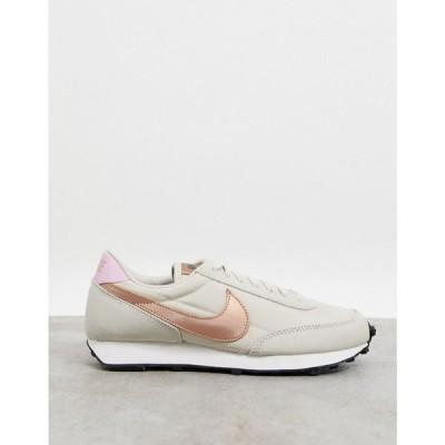 ナイキ Nike レディース スニーカー シューズ・靴 Daybreak Trainers In Tonal Cream And Pink ブラック