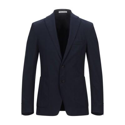 SALLE PRIVÉE テーラードジャケット ダークブルー 48 コットン 98% / リネン 2% テーラードジャケット
