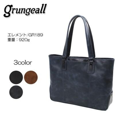 grungeall エレメント レザートートバッグ GR189