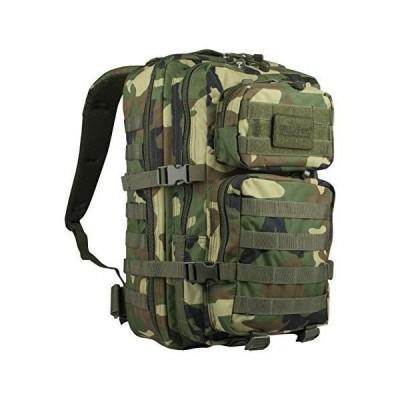 MIL-TEC バックパック US Assault Pack モールシステム 大 36L - WOODLAND Camo迷彩