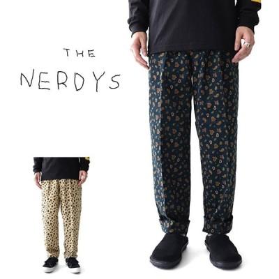 [SALE] THE NERDYS ナーディーズ サマーコーデュロイ ペイズリー スラックスパンツ NSN-P02 総柄 メンズ