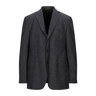 ラルディーニ LARDINI テーラードジャケット スチールグレー 56 ウール 100% テーラードジャケット