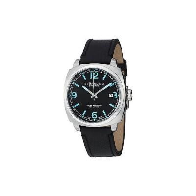 ストゥーリングオリジナル腕時計Stuhrling Original メンズ 451.331551 Leisure Eagle ブラック レザー クォーツ 腕時計