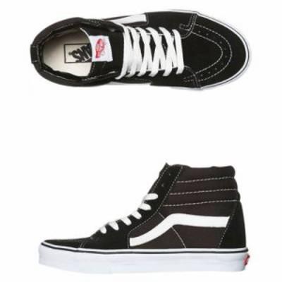 ヴァンズ スニーカー Sk8 Hi Shoe Black