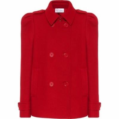 レッド ヴァレンティノ REDValentino レディース ジャケット アウター Wool and cashmere-blend jacket Red