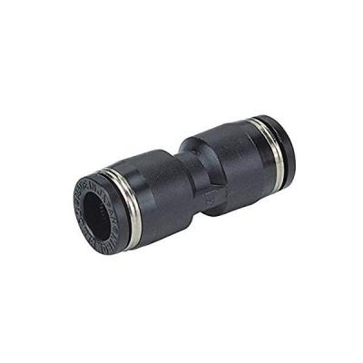 日本ピスコ(PISCO) ワンタッチ継手(チューブフィッティング) ユニオンストレート 適用チューブサイズ:8mm PU8