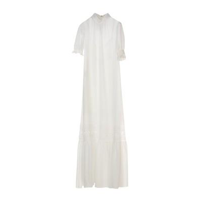 マックキュー アレキサンダー・マックイーン McQ Alexander McQueen ロングワンピース&ドレス ホワイト 36 ポリエステル 10