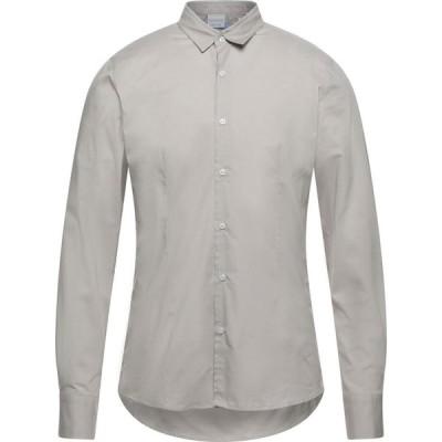 プリモエンポリオ PRIMO EMPORIO メンズ シャツ トップス solid color shirt Dove grey