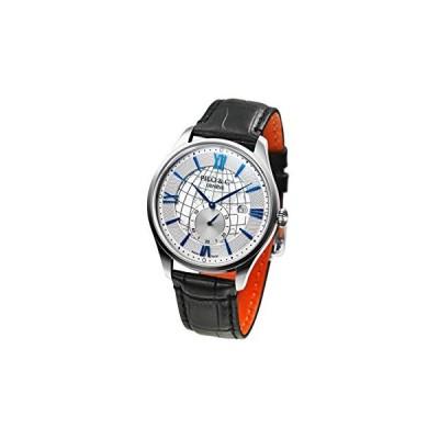 Pilo & Co Swiss Quartz Montecristo Men's Watch Collection Silver 並行輸入品