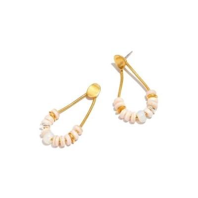 メイドウェル レディース ピアス&イヤリング アクセサリー Conch Shell Beaded Drop Earrings Pink Shell Multi