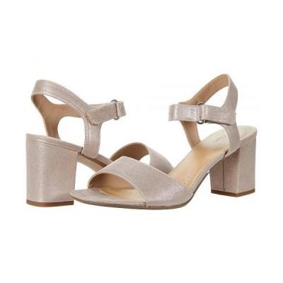 Clarks クラークス レディース 女性用 シューズ 靴 ヒール Deva Alice - Lavender Metallic Textile