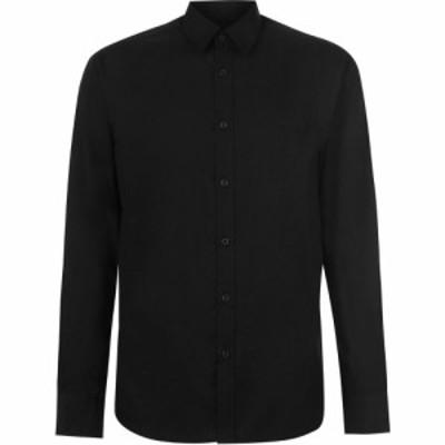 ピエール カルダン Pierre Cardin メンズ シャツ トップス Long Sleeve Shirt Black
