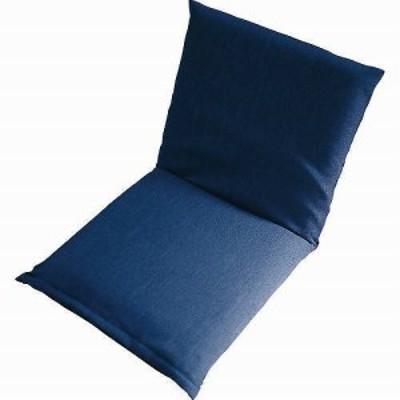 ズレ落ち防止加工座椅子 ブルー TT-01BL 【送料無料】(座椅子、リラックスチェア、パーソナルチェアー、チェア)