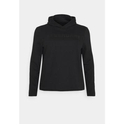 レディース ファッション ONPFUD LIFE HOOD - Hoodie - black