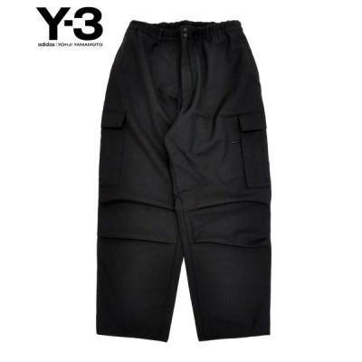 Y-3 ワイスリー メンズ パンツ M CLASSIC WINTER WOOL CARGO PANTS GK4594 ブラック ボトムス ロゴ adidas yohji yamamoto 送料無料