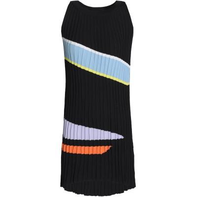 RAOUL ミニワンピース&ドレス ブラック M コットン 55% / レーヨン 45% ミニワンピース&ドレス