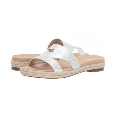 Anne Klein アン クライン レディース 女性用 シューズ 靴 サンダル Doris Slide Sandal - White