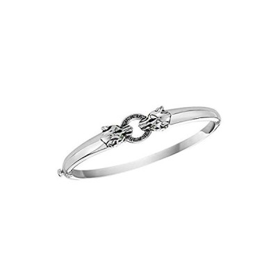 Effy Jewelry ツァボライトパンサーバングル 925スターリングシルバー/0.02 TWCIGS0K621VV