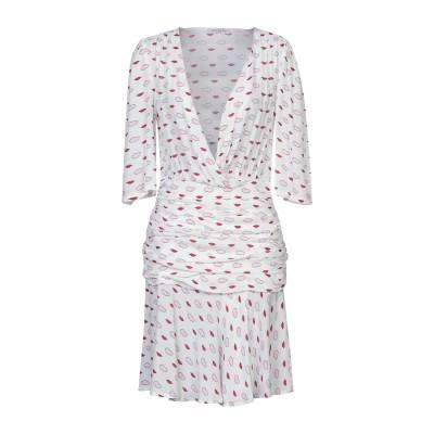 VIVETTA ミニワンピース&ドレス ホワイト 38 レーヨン 100% ミニワンピース&ドレス