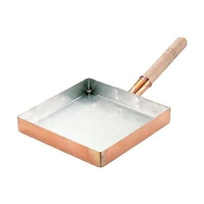 16023-02 マル新銅玉子焼関東型 18cm 5997ah