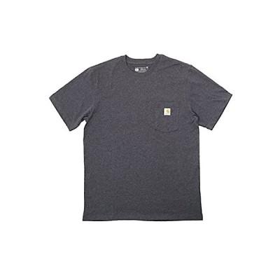 (カーハート)carhartt メンズ Tシャツ 大きいサイズ オーバーサイズ コットン100% 半袖シャツ タグレス ポケット?