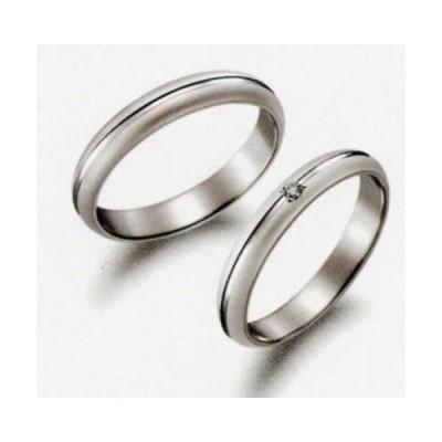 (15)  P314  & (16)  P314D ダイヤ  True Love トゥルーラブ パイロット お得な特別割引価格 Pt900 プラチナ マリッジリング 結婚指輪 ペアリング