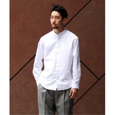 メンズ エディフィス THOMAS MASON / トーマスメイソン ブロードバンドカラーワイドシャツ ホワイト M